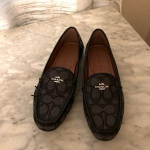 Brand new Coach driving loafers